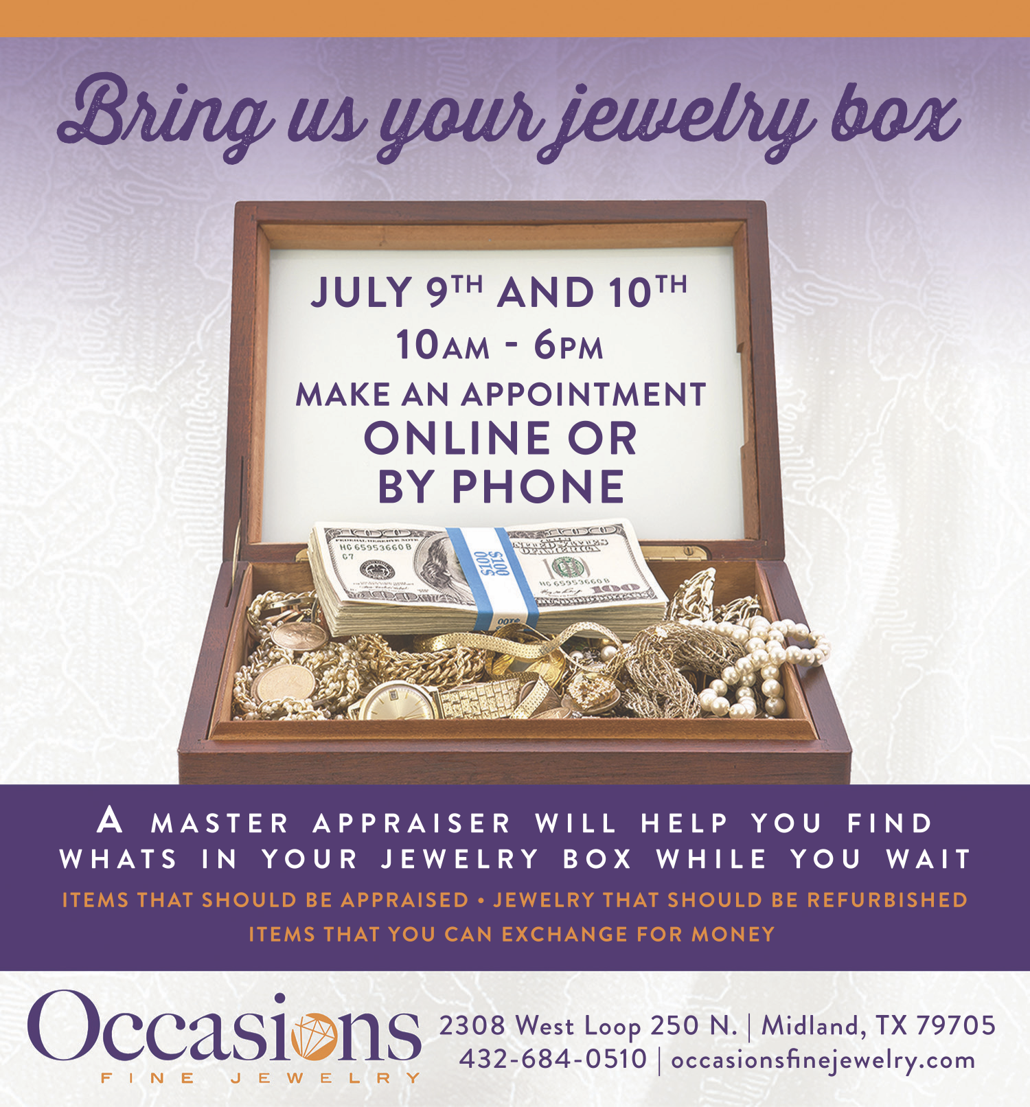 Jewelry Box Event